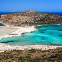 Пляж и лагуна Балос (Balos lagoon)