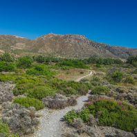 Дорога к пляжу Кедродасос, Крит