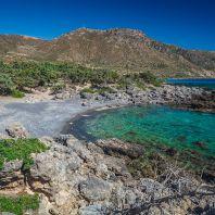 По дороге на пляж Кедродасос, Крит