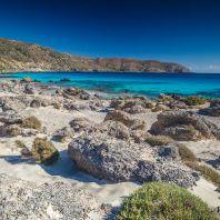 На пляже Кедродасос, Крит