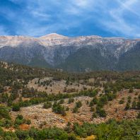 Белые горы в районе ущелья Арадена