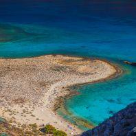 Вид на пляж с крепости Грамвуса