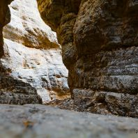 Ширина ущелья Имброс всего 1.6 метра, Крит, Греция