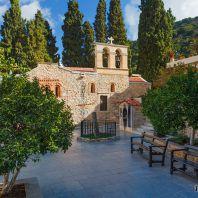Женский монастырь Богородицы сердечной, один из известнейших монастырей на острове Крит, Греция