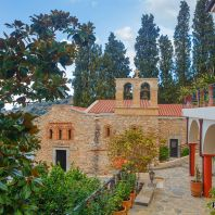 Монастырь Богородицы сердечной с чудотворной иконой Богородицы, Крит, Греция