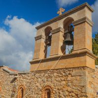 Звонница в монастыре Панагия Кера Кардиотисса, Крит, Греция