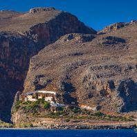 Монастырь Капса на южном побережье острова Крит, Греция