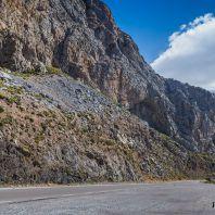 Дорога в Курталиотское ущелье