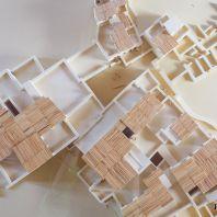 Макет минойского дворца в Малия, Крит