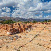 Малия, Крит: один из четырех самых значимых минойских дворцов острова