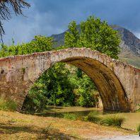 Мост через ручей Бурдзукос (Bourtzoukos river bridge)
