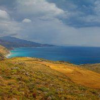 Монастырь Превели, вид на Ливийское море (Moni Preveli)