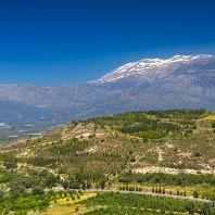 Горы в районе дворца Фестос, Крит, Греция
