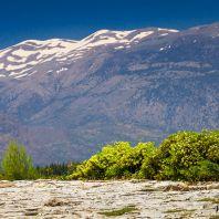 Горы в районе Фестского дворца, Крит, Греция
