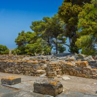 Фестский дворец, Крит, Греция