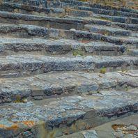 Лестницы в Фестском дворце, Крит, Греция