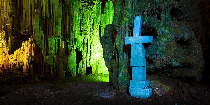 Дети подземелий: пещера Мелидони