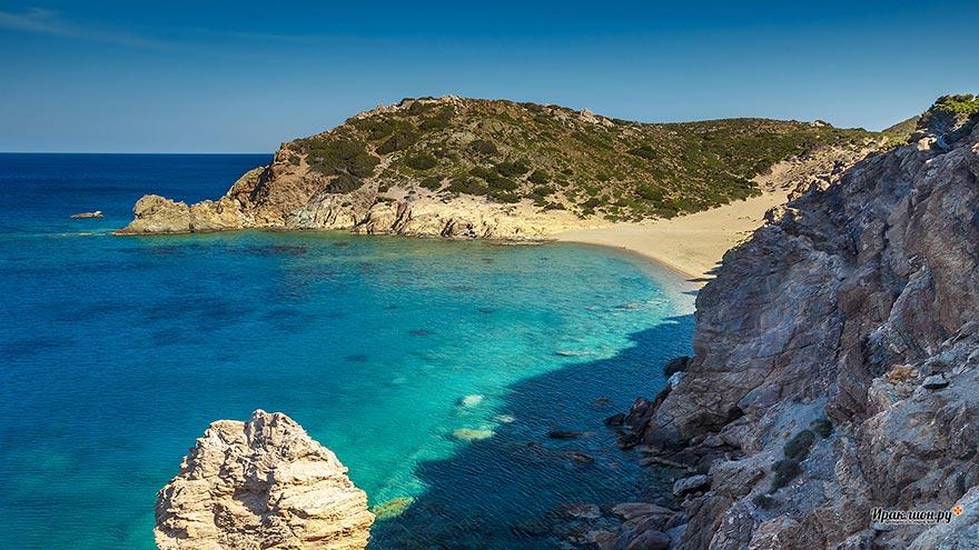 Пляж Вай, восточная бухта, Крит, Греция