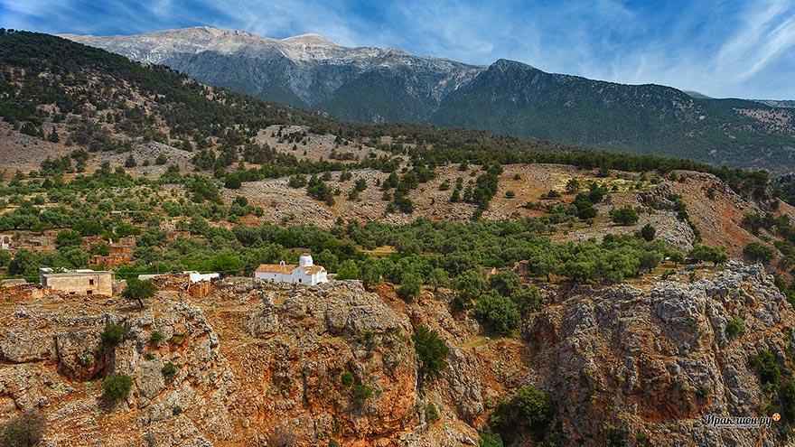 Ущелье Арадена, Крит, Греция