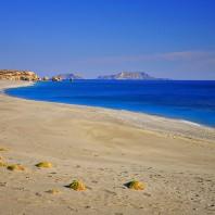 Пляж Триопетра (Triopetra beach)