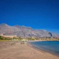 Пляж Франгокастелло (Frangokastello beach)