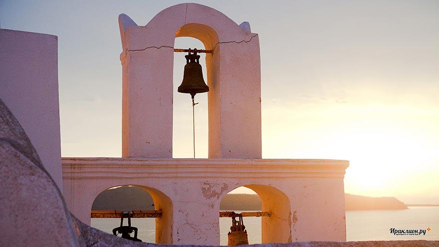 Закат на Санторини, Греция