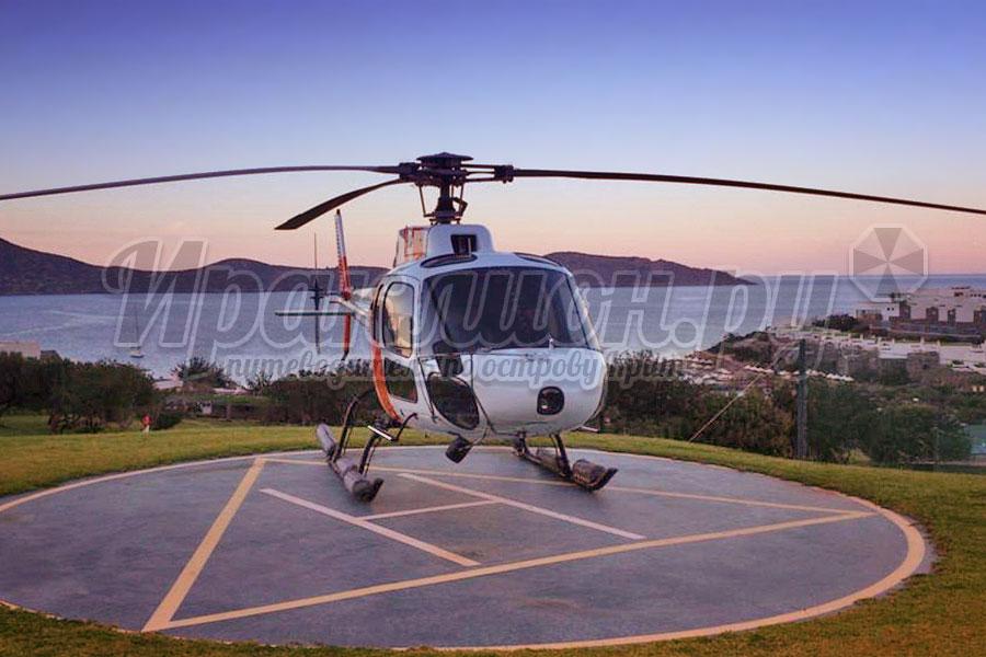 Аренда вертолёта Airbus Helicopter AS 350 на Крите, Греция