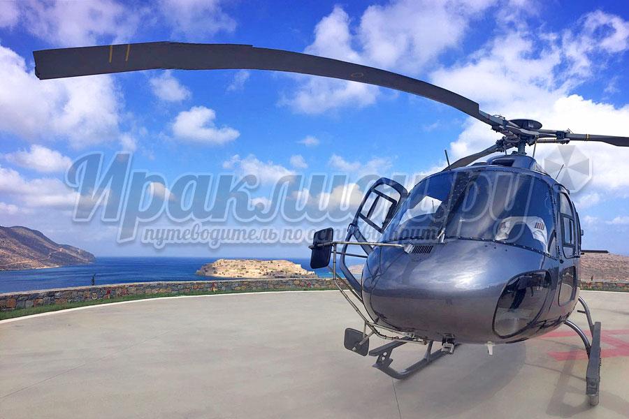 Аренда вертолёта Airbus Helicopter AS 355 на Крите, Греция