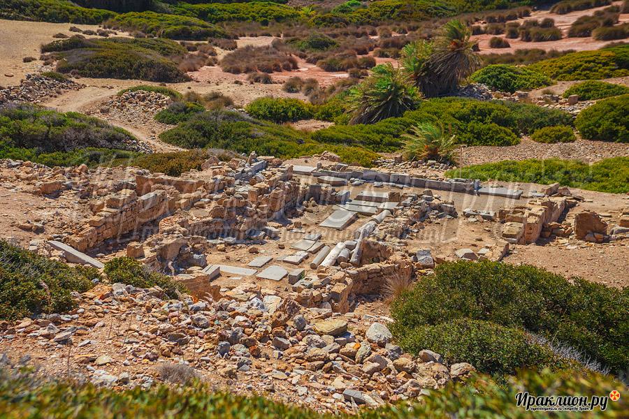 Древний город Итанос, Крит, Греция