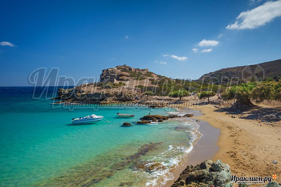 Центральный пляж Итанос, Крит, Греция