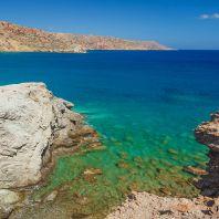 Небольшие бухты у пляжа Итанос, Крит, Греция