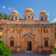 Монастырь Агиа Триада (Μονή Αγίας Τριάδος, Agia Triada Monastery) или Монастырь Святой Троицы