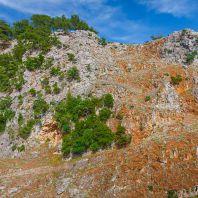 Ущелье Арадена, подъём наверх