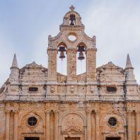 Звонница монастыря Аркади, Крит, Греция