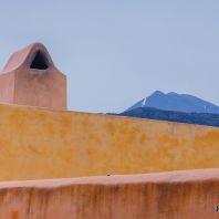 Вид на горы из монастыря Аркади, Крит, Греция