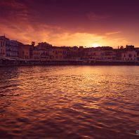 Ханья, вечерняя гавань