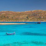 Бухта у острова Грамвуса, Крит