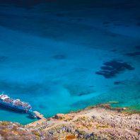 Слияние трёх морей: остров Грамвуса и бухта Балос