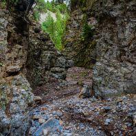 В ущелье Имброс на Крите, Греция