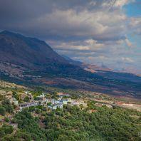 По дороге в ущелье Имброс, Крите, Греция