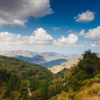 По дороге к монастырю Кера Кардиотисса, Крит, Греция