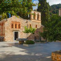 Монастырь Кера Кардиотисса с чудотворной иконой Богородицы, Крит, Греция