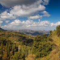 Вид из монастыря Панагия Кера Кардиотисса, Крит, Греция