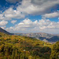 Вид из монастыря Кера Кардиотисса, Крит, Греция