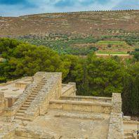 Кносский дворец царя Миноса, Крит, Греция