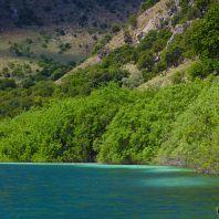 Пресноводное озеро Курнас (Kournas lake)