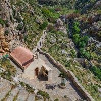 Церковь Святого Николая в Курталиотском ущелье