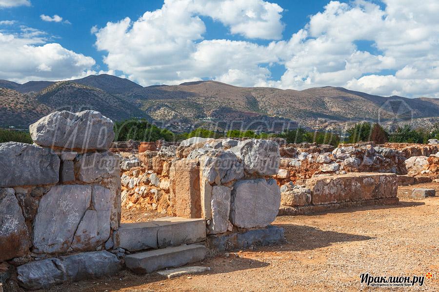 Малийский дворец, Крит, Греция