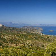 Вид на деревню и остров Мохлос