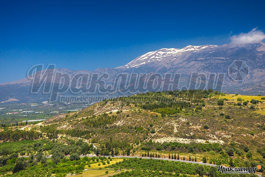 Пейзажи вокруг древнего Феста, Крит, Греция